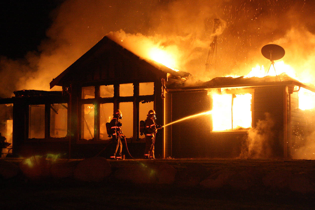 Nice WATCH: House On Nanaimo River Road Burns Down After Reported Explosion